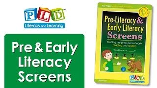 How do you screen preliteracy skills? - YouTube