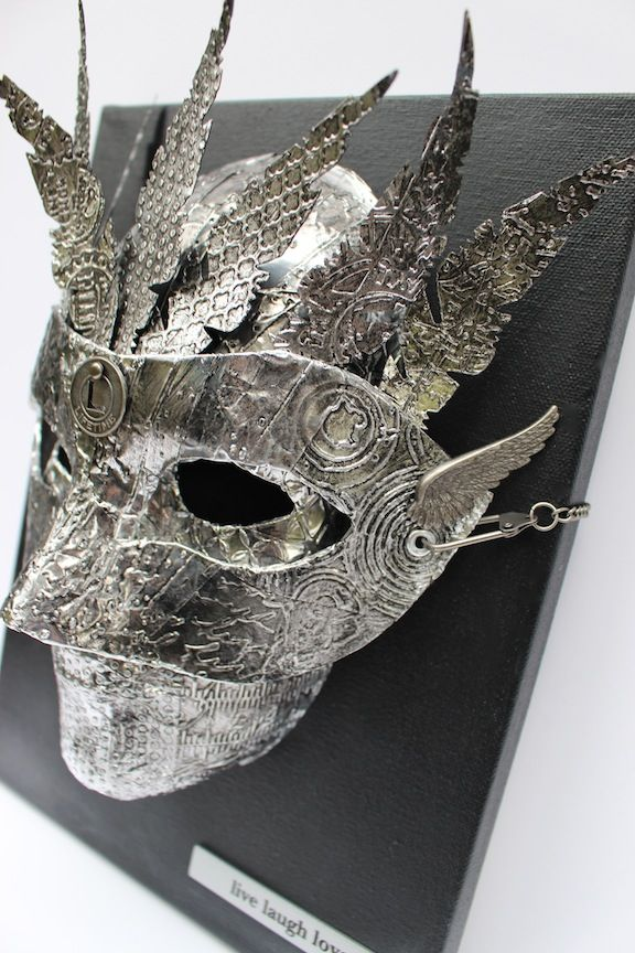 The Art Is You Mixed Media Art Retreat starts next Wednesday, and on my list of things to bring (art supplies, CHECK! class kits, CHECK! clothes, CHECK!) was a handmade superhero mask. Why? Beca...
