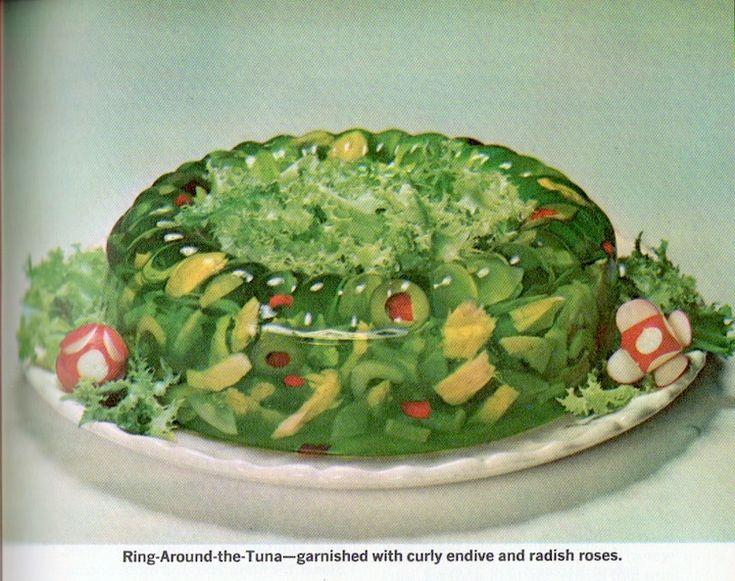 Vintage Victuals: Ring Around the Tuna recipe, 1962