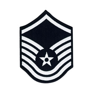 Master Sergeant Rank - Cloth - Air Force Rank