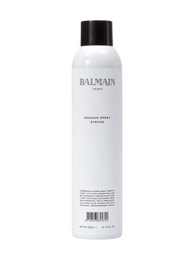 Balmain Hair -tuotteet ja antistaattisen Balmain Session Spray Strong Hairspray -hiuskiinteen tilaat helpostio stockmann.com-verkkokaupasta!