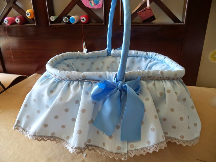 coser es fácil...: PAP ...cestita para bebe....