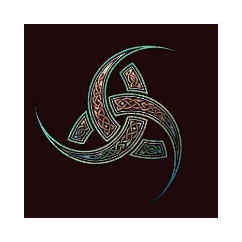 La Triple Cuerno de Odin es un emblema estilizado del dios nórdico Odín / Woden…