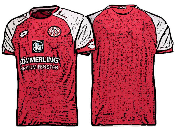 FSV Mainz 05 Kit Jersey For Cheap 17-18 Home Shirt
