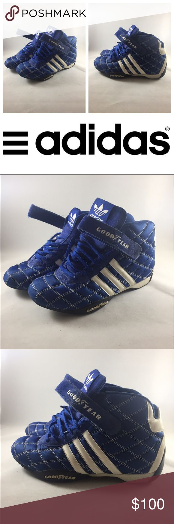 Adidas | Blue Suede Monaco High Tops | 7-7.5 Vintage and in great condition!! Unavailable in stores. Blue suede shoes!  adidas Shoes Athletic Shoes