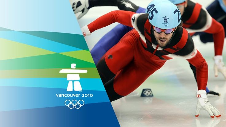 Charles Hamelin set the record in mens 500 meter in 2010 at the Vancouver Olympics with a time of 40.770 seconds.