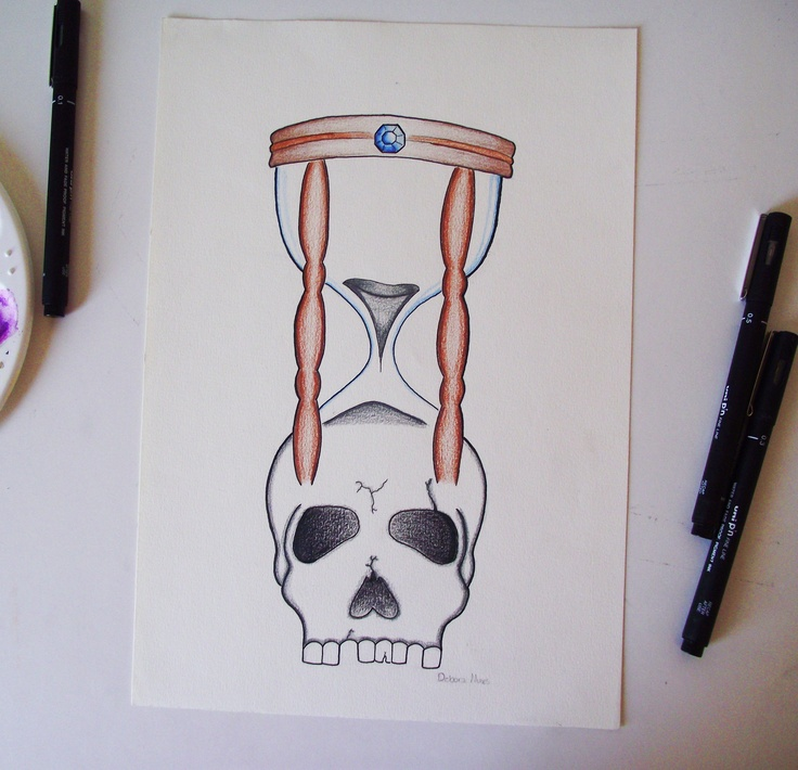 Your time is running out! by Debora Nunes