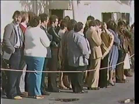The Carpenters - Karen Carpenter's Funeral (February 8, 1983) Karen Anne Carpenter (March 2, 1950 -- February 4, 1983)