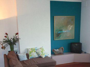 Meer dan 1000 idee n over woonkamer turquoise op pinterest strandhuis inrichting florida huis - Bruin taupe schilderij ...