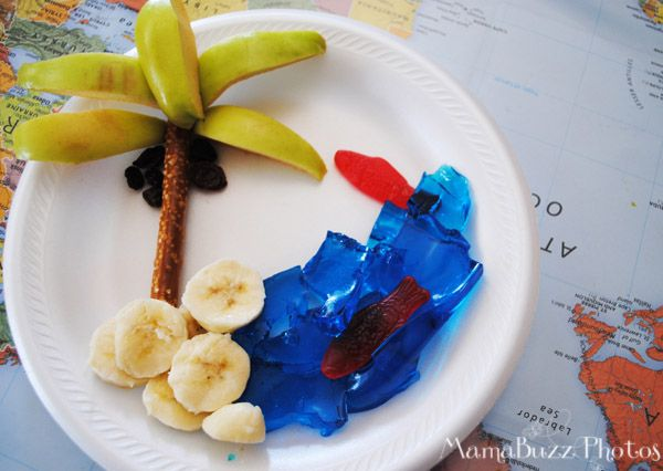 Fruit Plate Tropical Island Craft