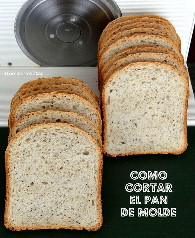Trucos para cortar y conservar el pan