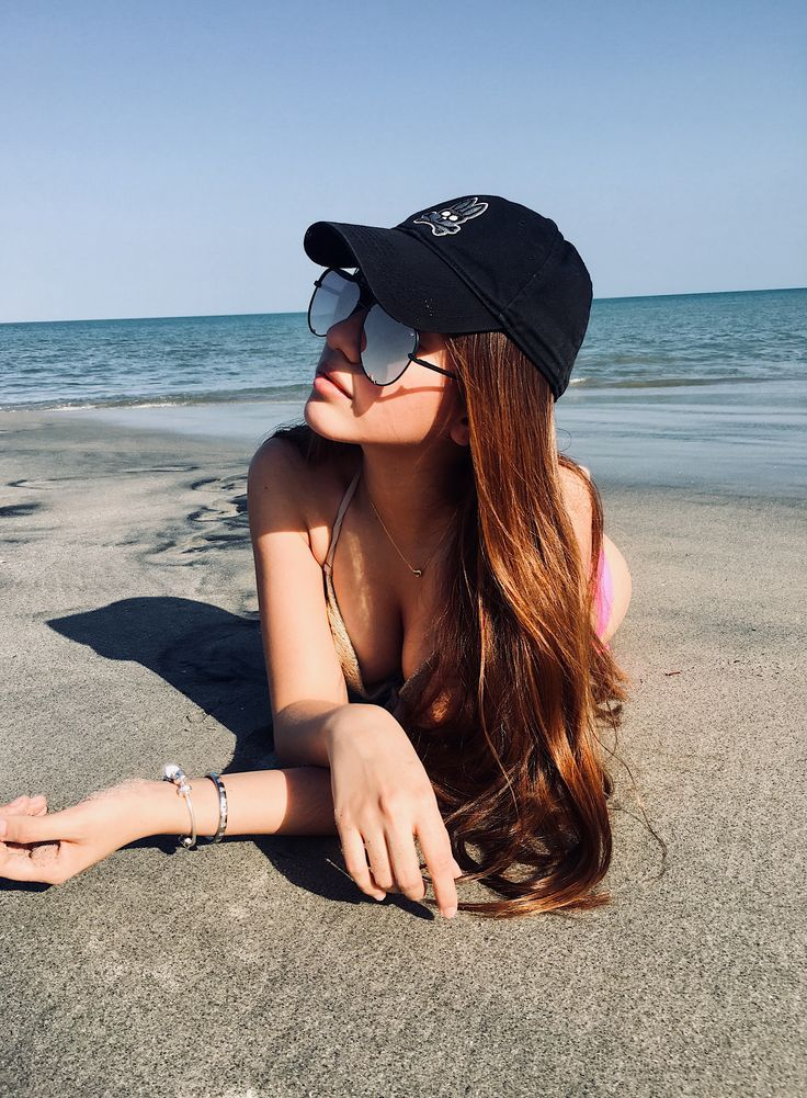 Foto en la playa sola