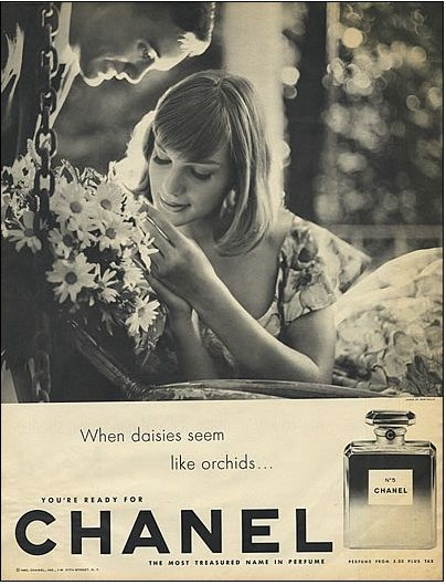 vintage fashion ads +chanel | Fashion Flashback: Vintage Chanel Ads on julepfree's Blog - Buzznet