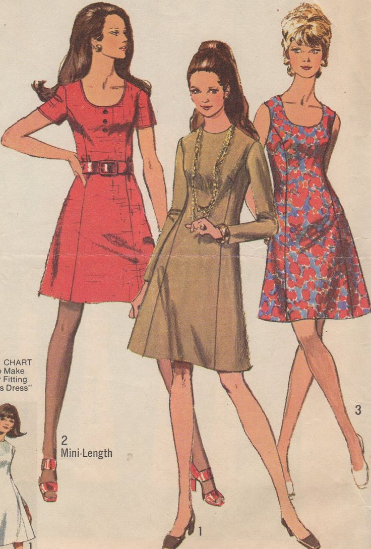 Bust 40-1970 Misses' Full Figure Dress Simplicity 8884 Size 18 by HelaQ on Etsy https://www.etsy.com/listing/195104425/bust-40-1970-misses-full-figure-dress