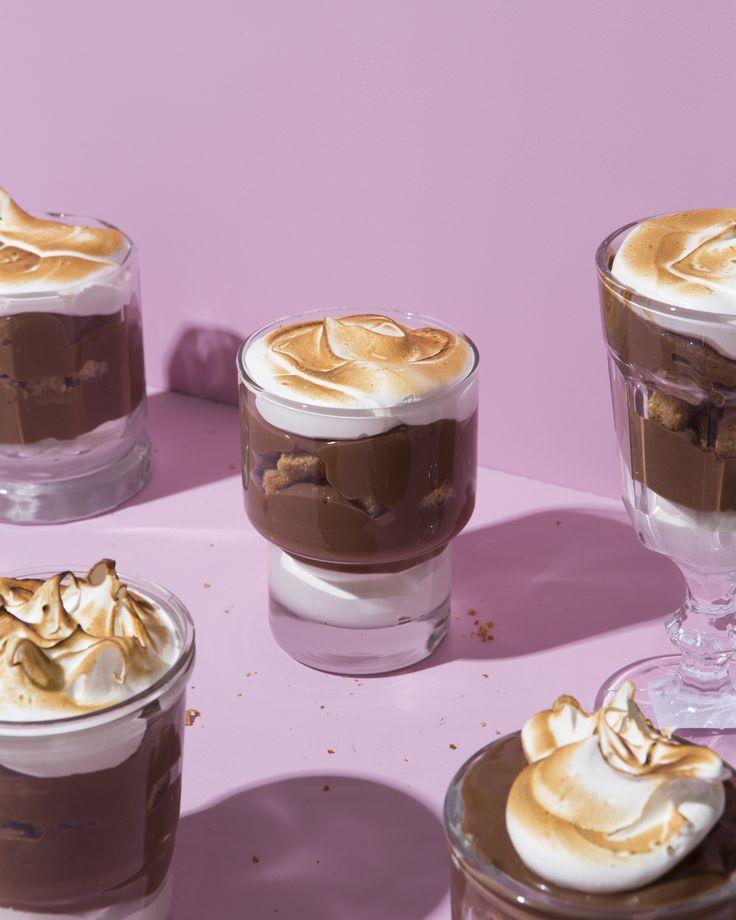 Brown Butter Honey Graham Cake + S'mores Trifles – Wit & Vinegar