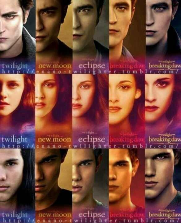 Twilight movie all books