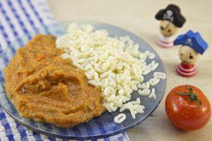 Madaga verse biologische pasta bolognese voor baby's en peuters