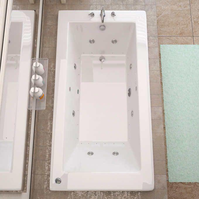 Access Tubs Venetian Dual System Bathtub, Whirlpool & Air Massage Therapy