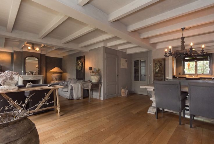 warme kleur vloer / My home