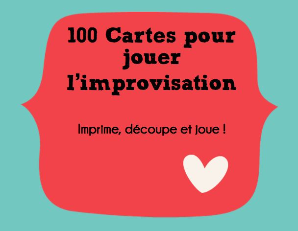 100 cards to get your class started with improvisation in French.   http://ordinaryfslteacher.blogspot.ca/2013/07/drama-in-fsl-classroom.html