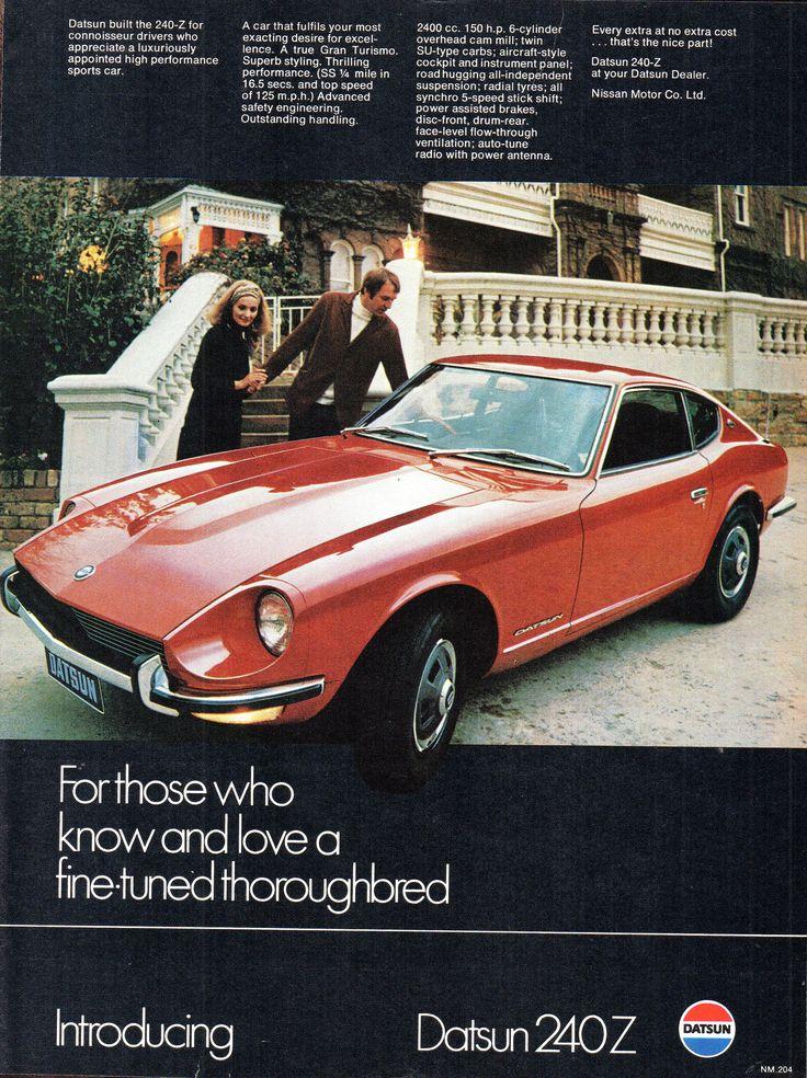 https://flic.kr/p/YWonzy   1972 Datsun 240Z Aussie Original Magazine Advertisement