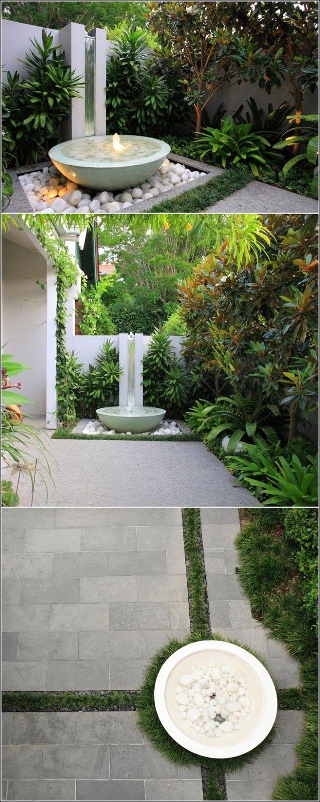 Idées de décoration extérieur avec l'eau ! ~ Décor de Maison / Décoration Chambre
