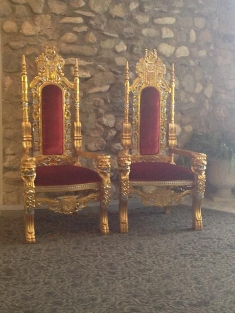 the king and queenu0027s chairs events castle farms pinterest chairs the ou0027jays and queen