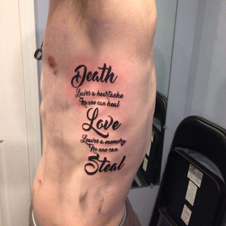Best 25+ Rib Tattoos Ideas Only On Pinterest