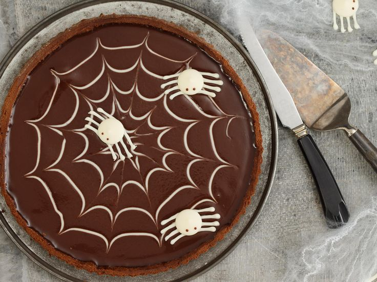 Chocolate Spider Tart