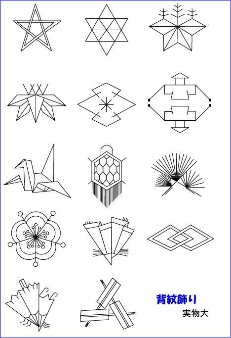 背紋飾り [semamori designs]