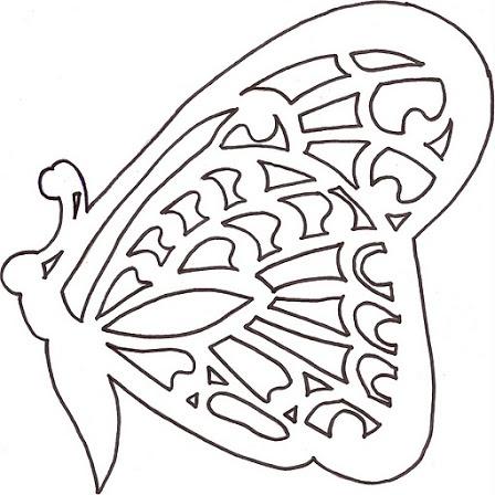 vlinder knutsel