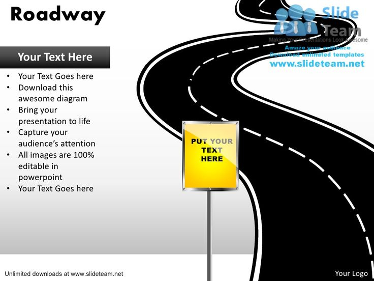 Download editable road map power point slides and road map powerpoint templates  by SlideTeam.net via slideshare