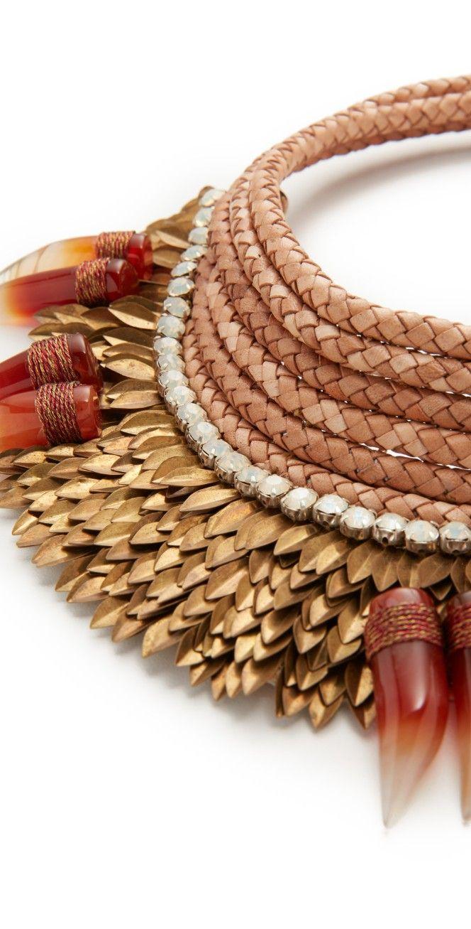 Deepa Gurnani Henrietta Statement Necklace   SHOPBOP