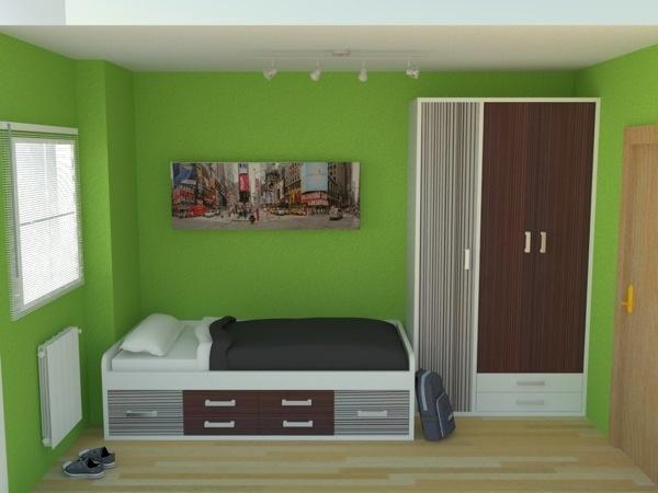 34 best dise o 3d habitaciones juveniles images on for Diseno 3d habitaciones