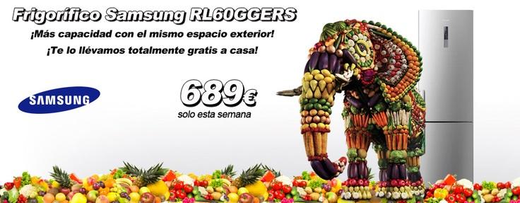 Nevera Combi electrónico Samsung http://www.esmio.es/blog/archives/4712