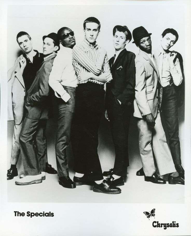 The Specials Two Tone Ska Revival Band From The Uk 1980s Fashion And Music 80s Stuff