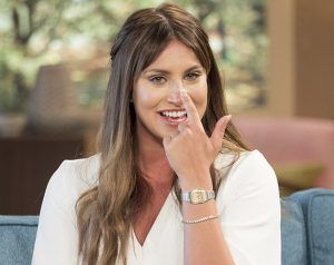 Ferne McCann Reveals The Results Of Her Nose Job On This Morning