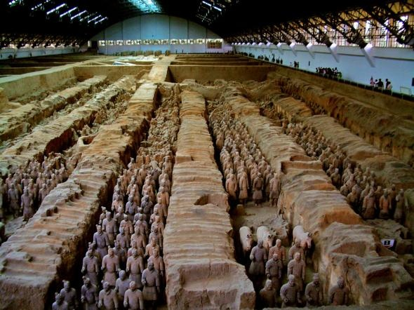 Mausoleum of the First Qin Emperor, China | Best places in the WorldBuckets Lists, Mausoleum, Lakes Baikal, Qin Emperor, Travel, Art History, Qin Shy, Terracotta Army, China