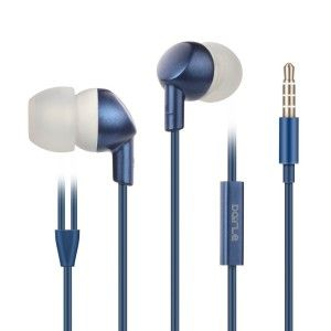 Dark Blue Handsfree Headset Ergonomic design comfortable fitting the ear. Compatible with most Android phones, and support part of the function for IOS devices, also works with online voice and video chats on smart phone.
