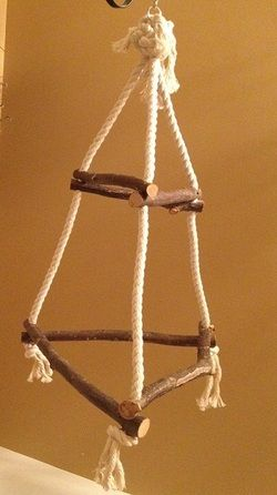 Find This Pin And More On Diy Bird Perches Toys By Ecospaint