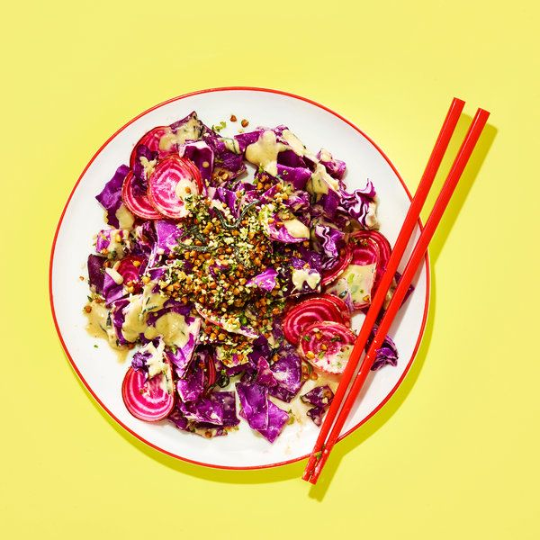 Mission Chinese Food's Cabbage Salad With Sesame-Anchovy Dressing - NYT Cooking