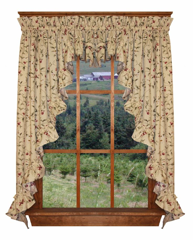 Best For The Home Images On Pinterest Curtain Valances - Cape cod kitchen curtains