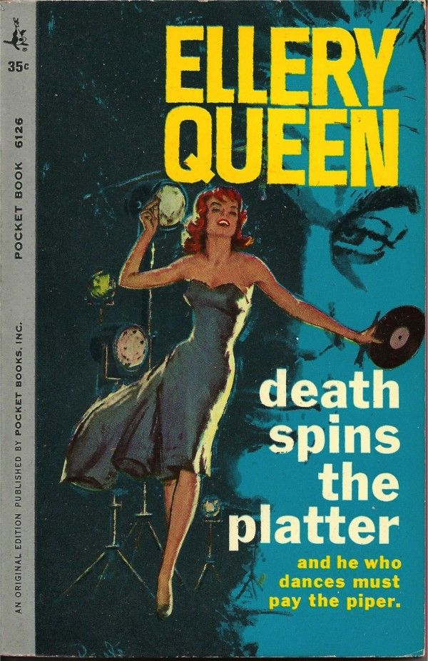 Fashion Book Cover Queen : Best images about covers ellery queen on
