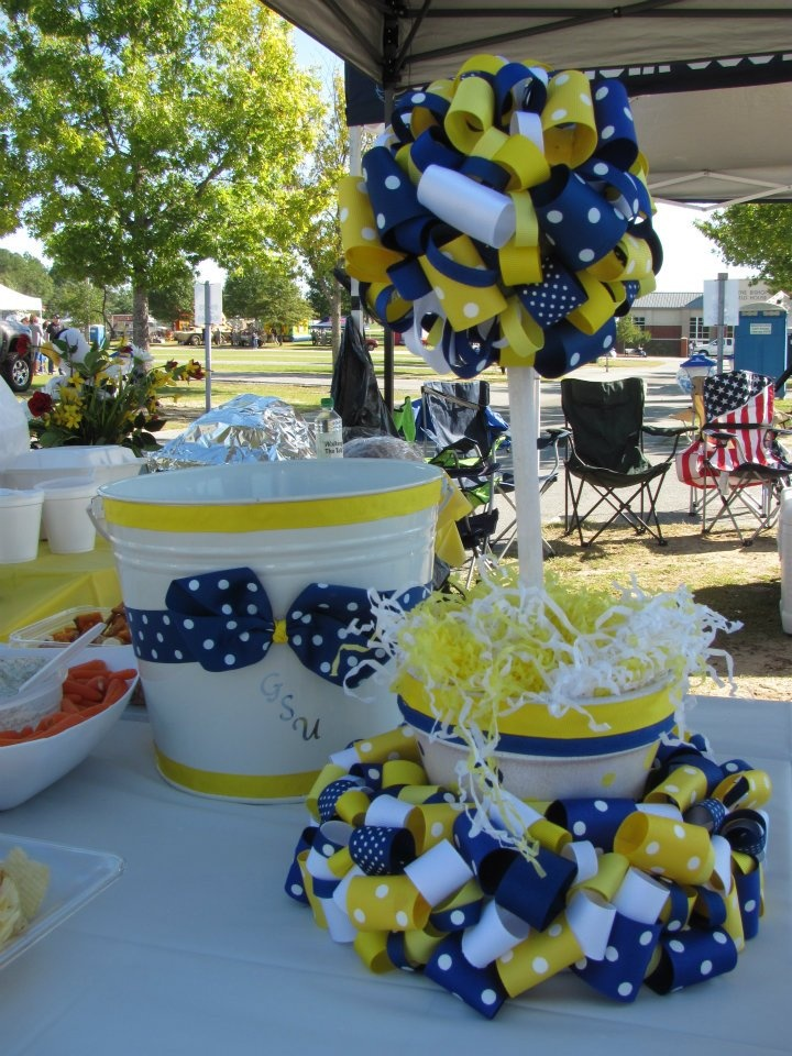 more of our tailgating decorations