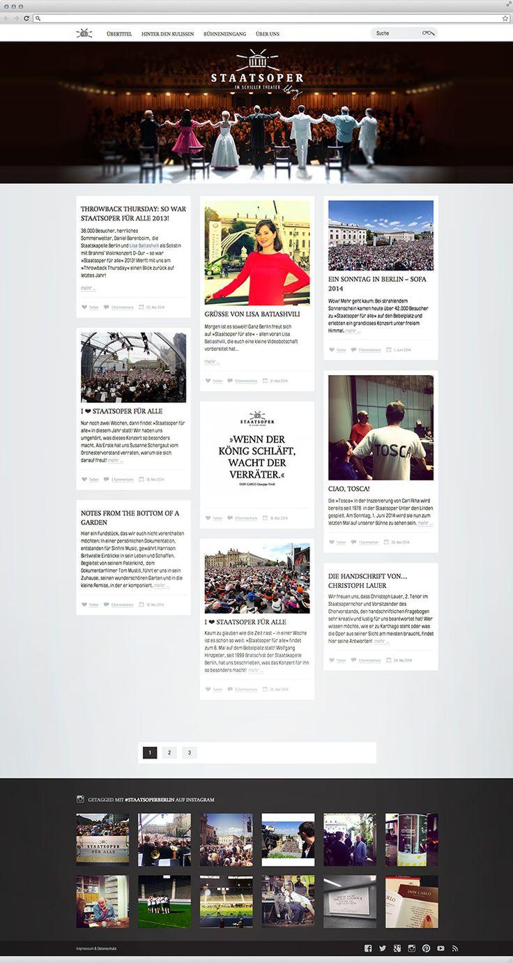 Staatsoper Berlin blog