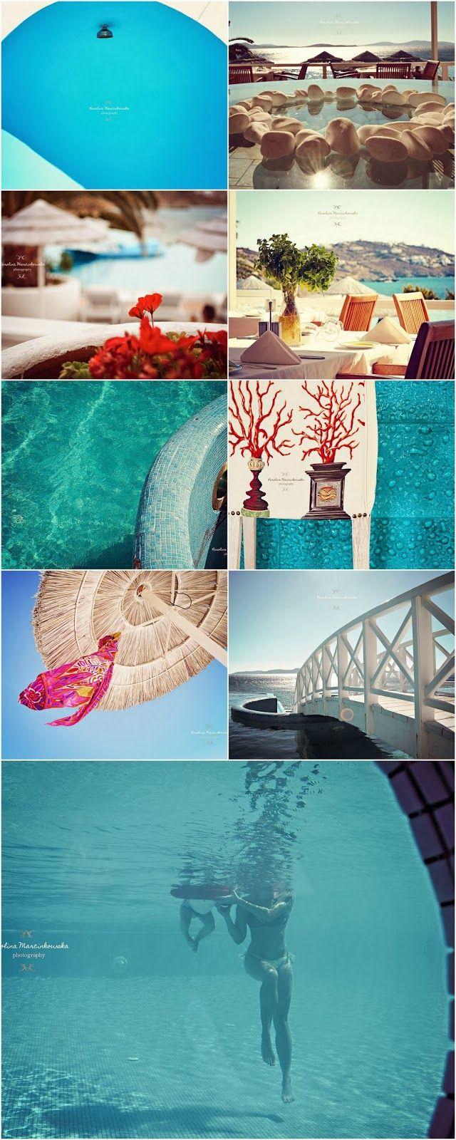 Blue Aqua - Greece, Mykonos, summer holidays and memories full of sun and sand!