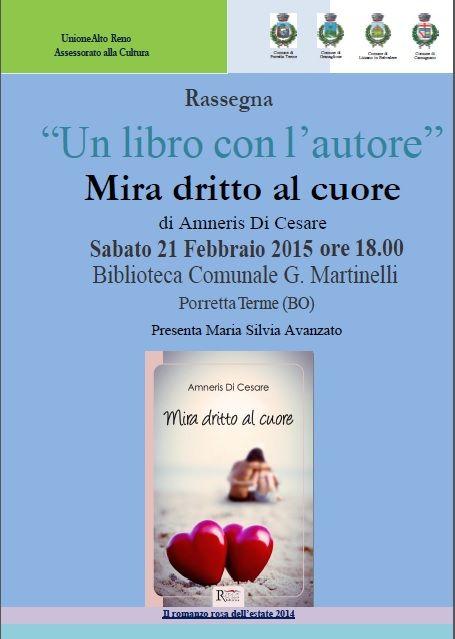 Locandina presentazione Porretta Terme 21 febbraio 2015