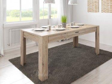 Eetkamertafel Marine is een eetkamertafel die geschikt is voor 4 tot 6 personen. De tafel is 180 cm en is 90 cm breed. In het midden van het blad is in de zijkant een opberglade geplaatst.