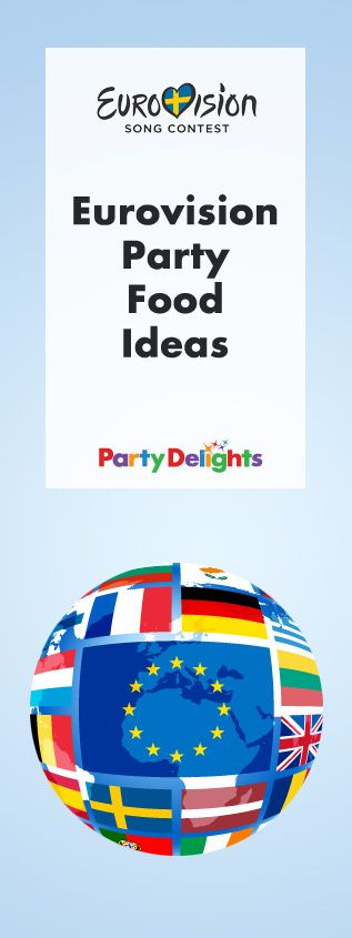 Planning a Eurovision party? Make sure you've got plenty of tasty things to snack on during the Eurovision Song Contest 2016 in Stockholm! Browse our Eurovision party food ideas for inspiration.