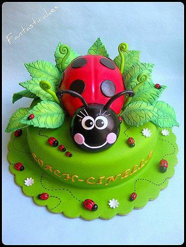 Torta Coccinella /Ladybug Cake | Another ladybug... This tim… | Flickr
